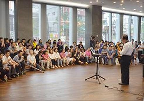· 종로구와 함께 점심시간 직장인들을 위한 'Heyday 작은 음악회' 프로그램 시작