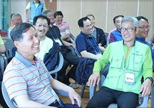 ·  50~65세 어르신들의 마음 치유를 위한 '전성기 캠프' 운영 시작